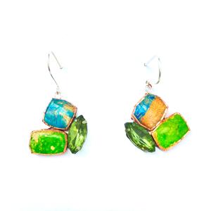 Tutti Frutt Green Drop Earring Dee Barnes