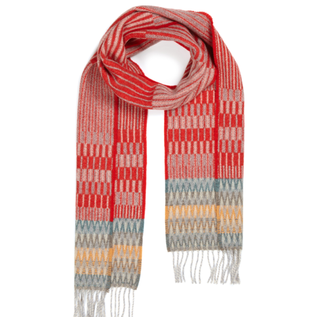 scarf-lambswool-furrow-red1
