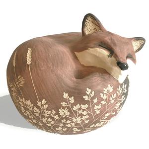 Lilly Reid Fox Sculpture