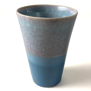 SGW Porcelain ceramic Beaker Pale Blue