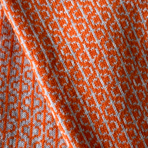 Olive Pearson Loop Scarf Orange