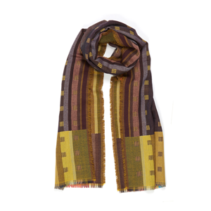 Wallace Sewell Doublecloth wrap Jacopo Gold