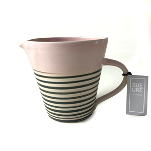 Medium Ceramic Spiral Jug Sue Ure