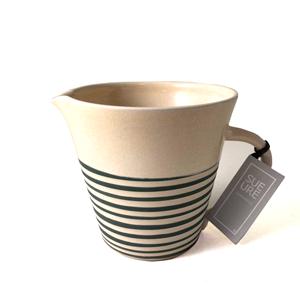 Medium Ceramic Spiral Jug Yellow Sue Ure