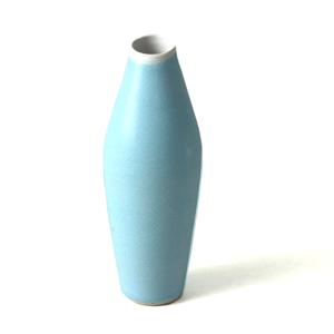 Ceramic Stem vase Turquoise Sue Ure