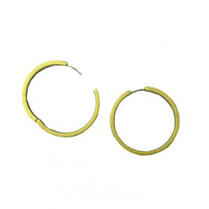 Titanium Hoop Yellow