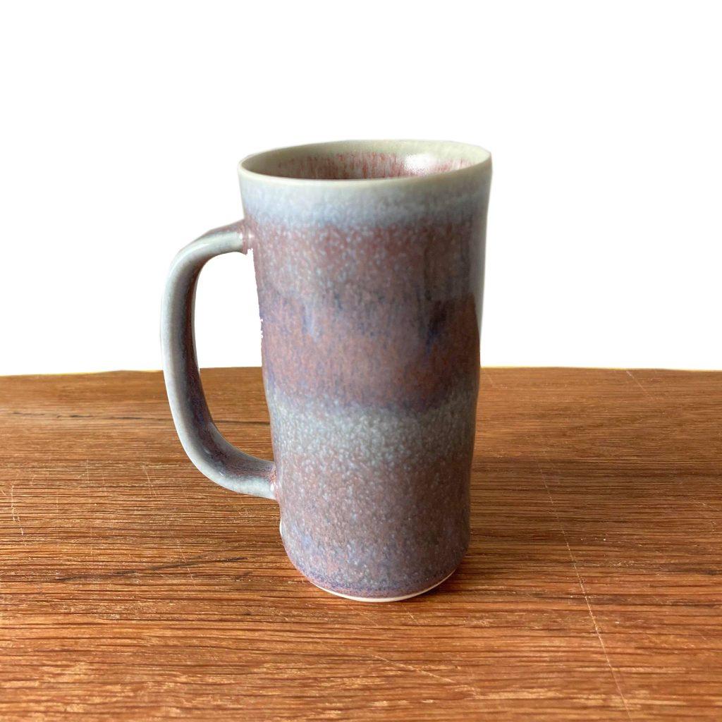 Rebecca Callis Tall Tiny Mug Purple
