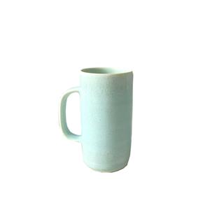 Tiny Tall Porcelain Coffee Mug Rebecca Calls