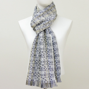 silk and wool long Rumba Stone Scarf