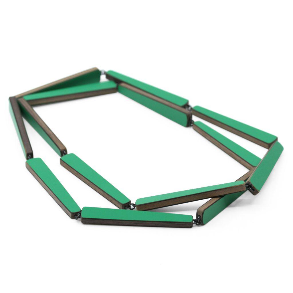 Emily Kidson_grass_green_laminate_chain
