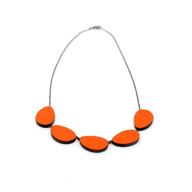 Emily Kidson orange_curve_necklace