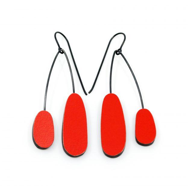 Emily Kidson red_orb_earrings