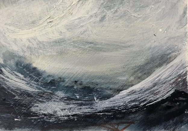 Wet days Walking 5 Original Painting by Lindsey Tyson