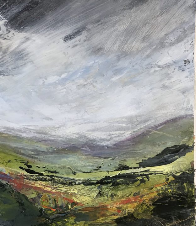 Memories of The Moors 1 Original Painting by Lindsey Tyson