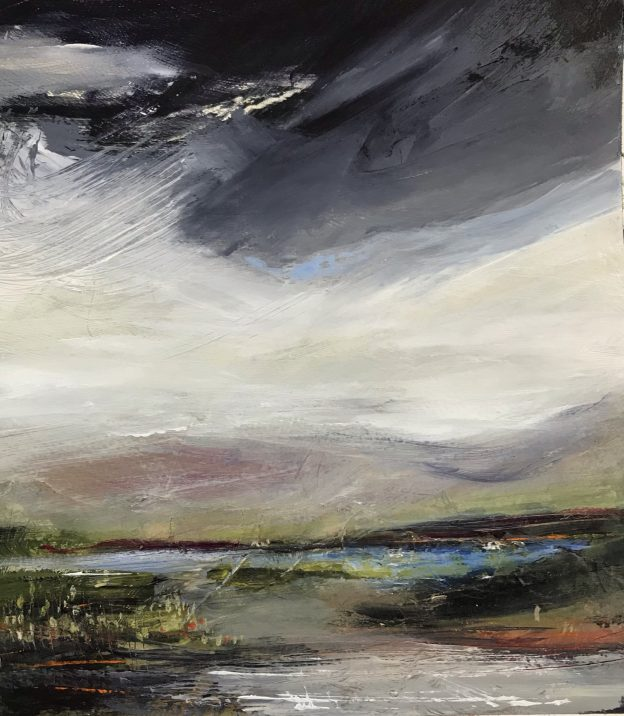 Memories of the Moor 3 Original Painting by Lindsey Tyson